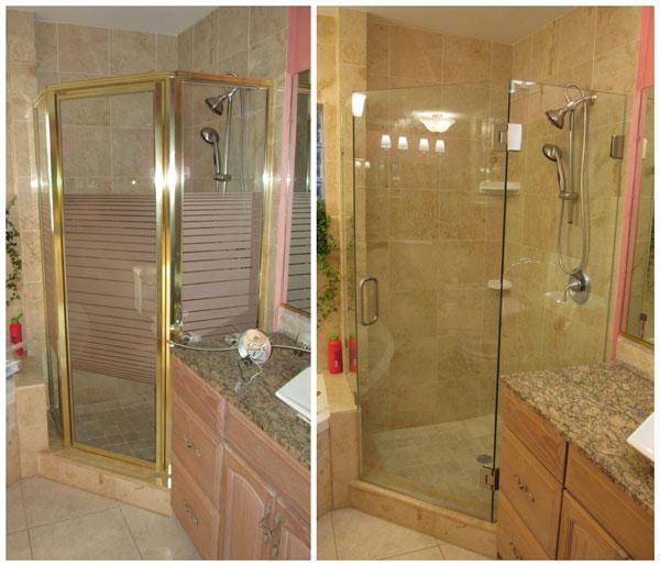 Tampa Bay Bathroom Remodeling: Framed Shower Enclosures Tampa Bay, FL