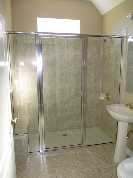 framed shower doors enlarge