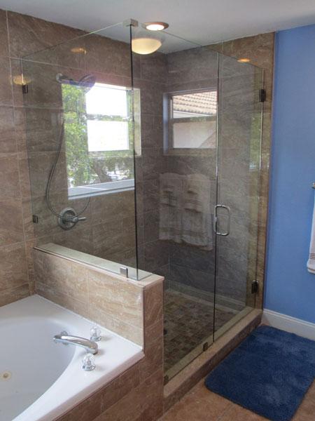 Frameless Shower Enclosures Tampa Bay Fl