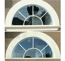 Broken Window Repair: Before and After